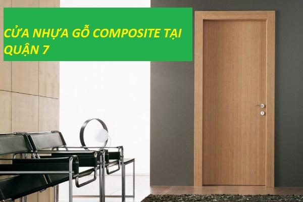 cửa nhựa gỗ composite tại quận 7