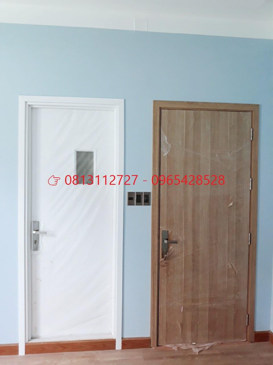 Cửa gỗ công nghiệp tại Đà Lạt