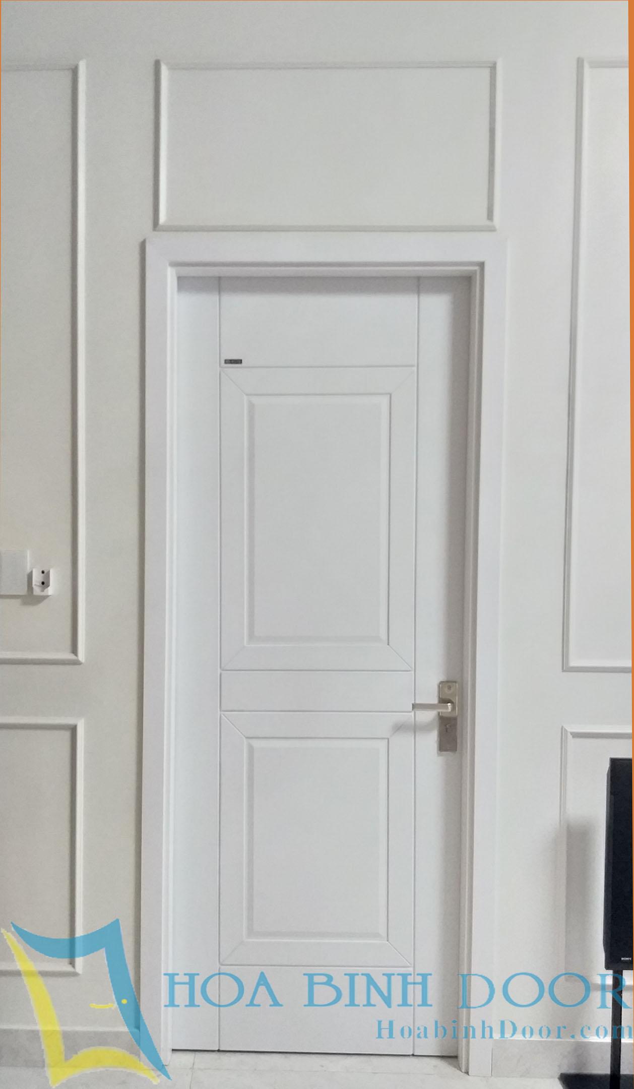 cửa nhựa abs hàn quóc màu trắng