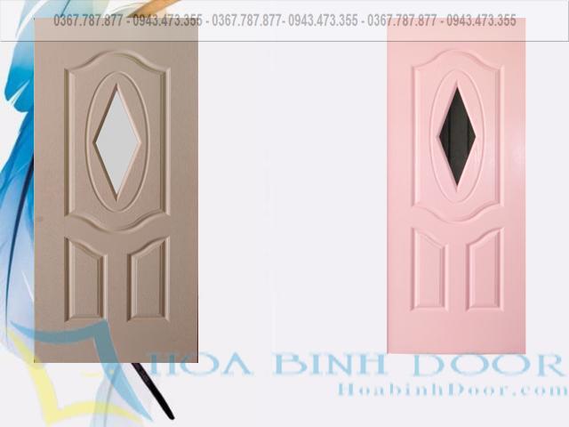 cửa gỗ công nghiệp hdf sơn