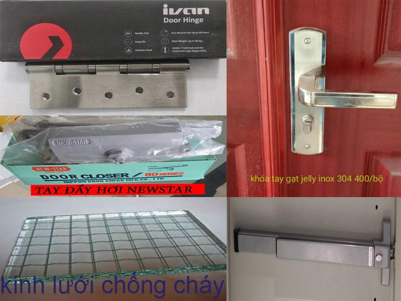 phụ-kiện cửa thép chống cháy