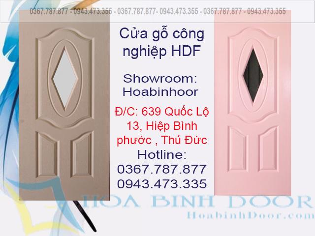 cửa gỗ hdf sơn